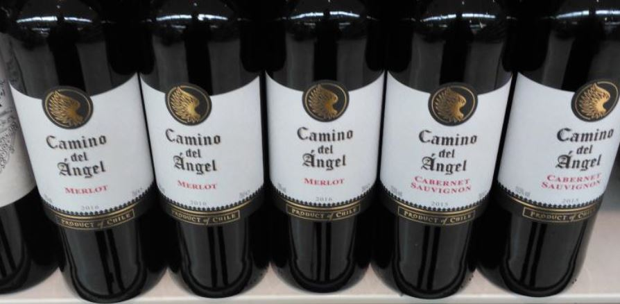 Filtering out the generics of a plain white label with a black band below and a circular motif the main font for the brand name is blatantly emulated and ... & Cabernet Sauvignon u2013 Vinesight pezcame.com